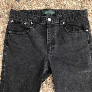 Ralph Lauren Jeans - Womens Ralph Lauren Black Jeans Size 12